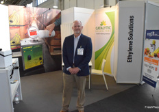 Greg Akins from Catalytic Generators and Felix Instruments is also present at his booth