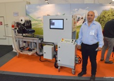 Yaacov Bitton from Hadran Advanced Labeling Solutions, they are busy with new developments to the machines