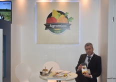 Kadir Özcaskun, Chairman of the Board from Agromico. The Turkish company exports a variety of fruits like citrus and tomatoes.