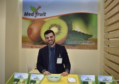 Pavlos Kontogiannis from the Greek company Medfruit.