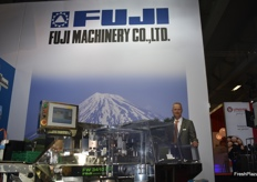 Rinze Jonkman from Fuji Machinery.