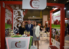 Fruit-Group CEO Janusz Kaweczynski with his daughters Agnieszka Kaweczynska and Emilia Lewandowska. They export apples from Poland.