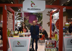 On the right is Marcin Slusarski, plant director from Polish company Elizowka.