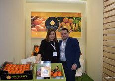 Angelakis Angelos, from Angelakis Fruits, a citrus exporter from Greece.