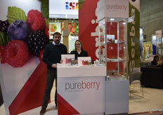 Radoje Djokovic and Aleksandra Nikolic for PureBerry, a French company with a subsidiary in Serbia.
