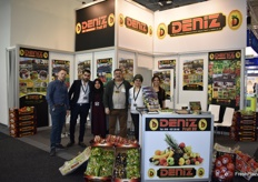 The stand of Dutch/Turkish company Deniz, who export their citrus and other produce to Belgium, Germany and Hungary.