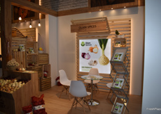 The stand of Egyptian company Olam Spices.