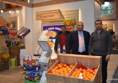 Muhamed Abo Salama from El Saad Fruits. The Egyptian company exports citrus.
