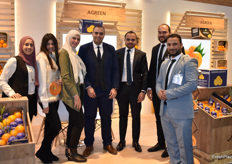 Sabri Uzunlar, Mohammed Önalmaz, Yüksel Oksak, Mahmour Shabana, Nariman Adel and Ibrahim Said from Agreen. The Egyptian company that mainly exports citrus from Egypt.