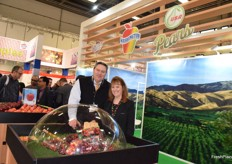 BJ Thurlby and Teresa Baggarley from Northwest Cherries
