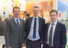 Narciso Vivot, AndrVink and Ivan Van Dessel from AgroFresh, they promote the Ripelock.