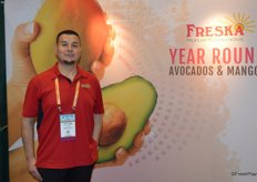 Al Valerio with Freska Produce International.