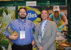Justin Heffernan and Jack Howell with Fyffes.