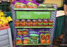 New merchandising rack from NatureSweet for its Brighthouse Organics program. The rack is provided to retailers for free.