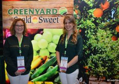 Kelly Dietz and Helena Fernandez Irastorza with Greenyard / Seald Sweet.