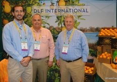 Ben Backus, Russell Kiger and Douglas Feek with DLF International from Fort Pierce, FL.
