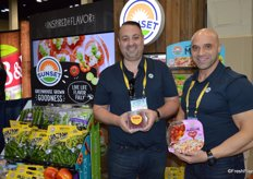 Mike Glass and Richie Keirouz with Mastronardi Produce.