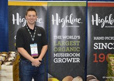 Dale Milison with Highline Mushrooms.