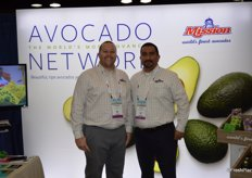 Stephen Fink and Bryan Garibay with Mission Produce.
