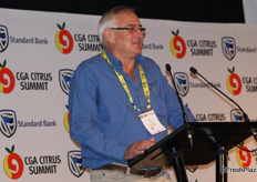 Piet Smit, managing director of the Komati Fruit Group.