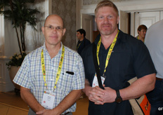 Anton de Beer of Paltrack and Steve Oosthuizen, Cape Fruit Coolers.