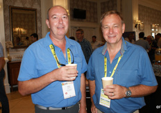 Johan Joubert and MC Pretorius of Citrus Research International.