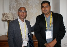 PK Nath, Group CEO of GSPC (Mumbai, India) and Avinash Maharaj of Star Choice Exports in Durban.
