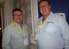 Sean Walsh of Kaap-Agri and Jannie Louw of the Co-op in Humansdorp.