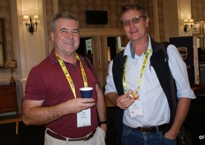 Sean Moore of Citrus Research International and Jon Roberts of the CGA Cultivar Company.