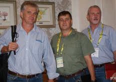 From the Humansdorpse Co-op: Peter Mitchley, Bertus Jacobs and Johan du Plessis.