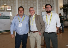 Cornel van der Merwe (Komati Fruit), Gert Mulder (Fresh Produce Centre) and Yannick Kraamer (Fresh Produce Centre).
