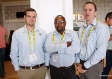 Llewellyn Landman, Lavhengwa Nemaorani and Hannes Coetzee of Xtreme International, Letsitele.