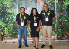 Rauff Dawood, Portia Gasa and Faisal Asmal of the CGA.
