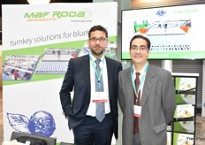 Didier Izard and Rafael Larrea from MafRoda