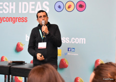 Nabil Belmkaddem from best berries gave an overview on Moroccan softfruit production.