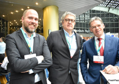 Donnie van den Berg, Anton Filippo - LBP and Jan van Kessel - BG Doors
