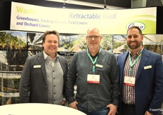 Benjamin Martin, Robert Rouhof and Bede Millar from Cravo.