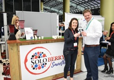 Rachel Montague-Ebbs and Robbert Leisink from SoloBerry.