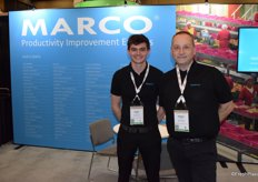 Jack Lidiard and Murray Hilborne from Marco