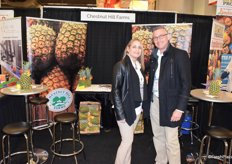 Darlene Zeh and Eddy Navas from Chestnut Hill Farms