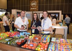Chris Veillon, Melissa Moore and Jeff Hammond from Pure Flavor