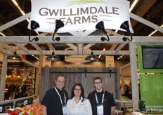 Headquartered in Ontario, Canada, but working with partner growers across the North American continent is Gwillimdale Farms. From left to right: John Hambly, Cristina Hambly and Quinton Woods.