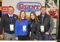 A happy California Giant team. From left to right Anthony Gallino, Helena Beckett, Morgan Maitoza and Nick Chappell.