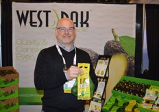 Scott Ross with West Pak Avocados.