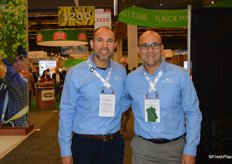 Walking the show are Jose and Ricardo Roggiero with Freshway Produce.
