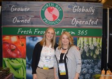 Sarah Yancho and Sharon Robb with North Bay Produce.