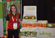 Kara Badder with NatureFresh Farms is part of CPMAs Passion for Produce program.