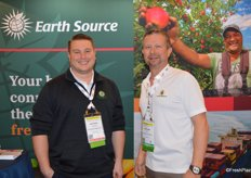 Matt Wentzel and Will Ison with EarthSource Trading.