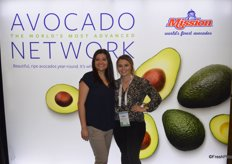 Janett Orosco and Jenna Rose Lee with Mission Produce.