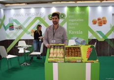 Konstantinos Maragkozis is the agronomist for Nespar, they mostly deal in aspargus and kiwis.